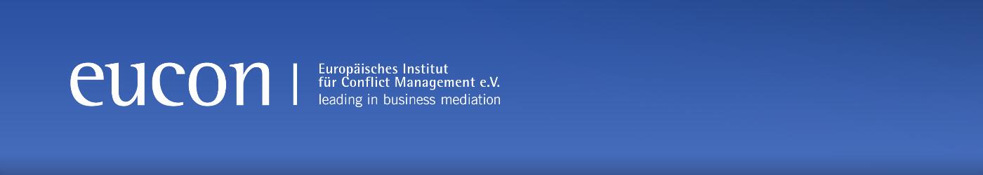 EUCON – Mediation & Güteverfahren / Europäisches Institut für Conflict Management e.V. / München / Deutschland
