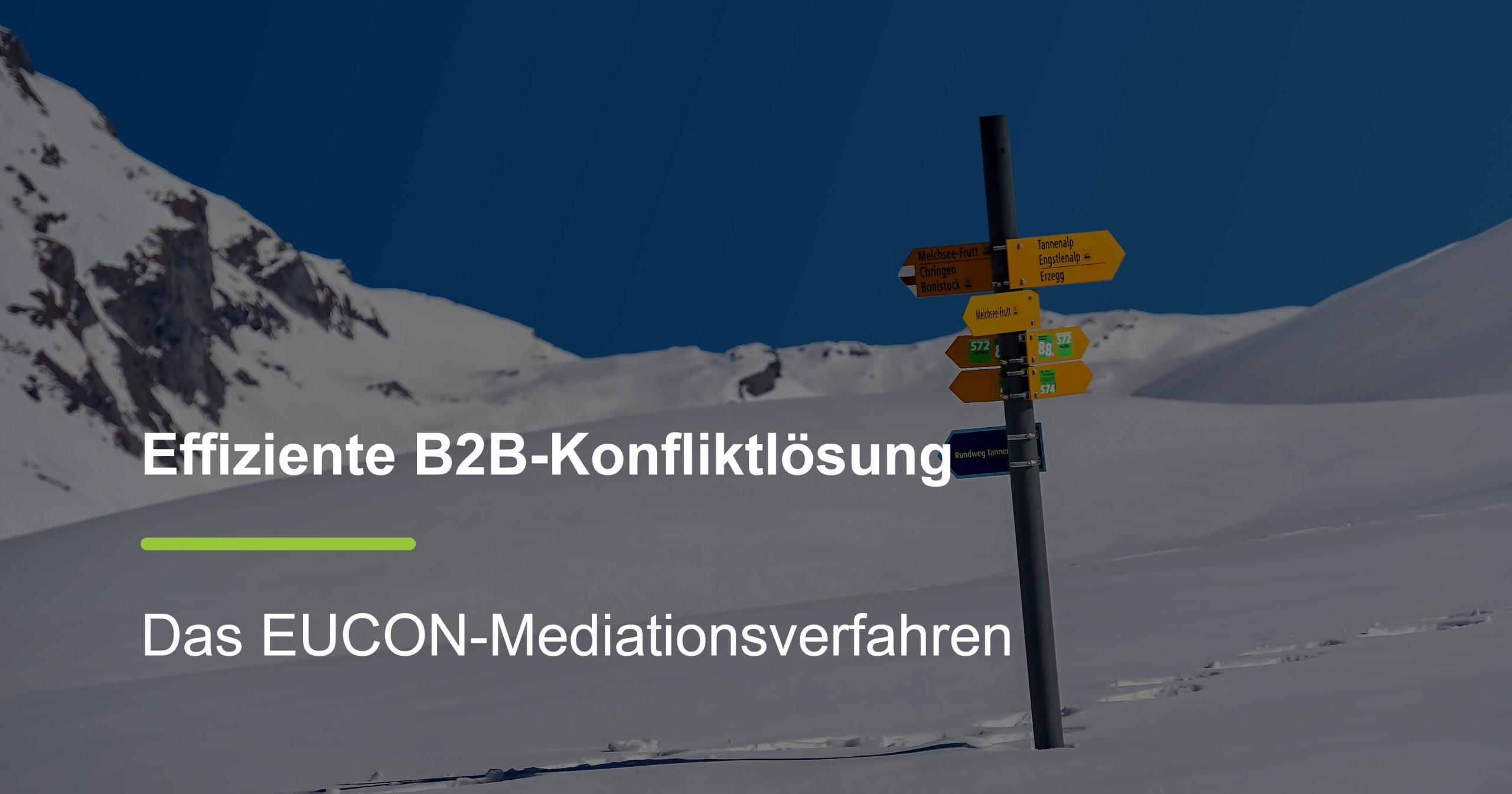Effiziente B2B-Konfliktlösung
